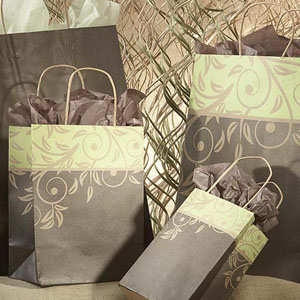 Antigua Rainforest Paper Shopping Bags