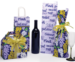 Beaujolais Paper Shopping Bags