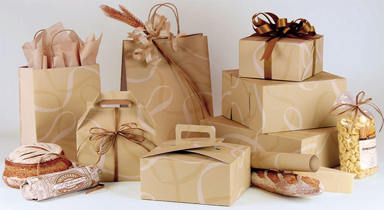 Boulangerie Paper Shopping Bags