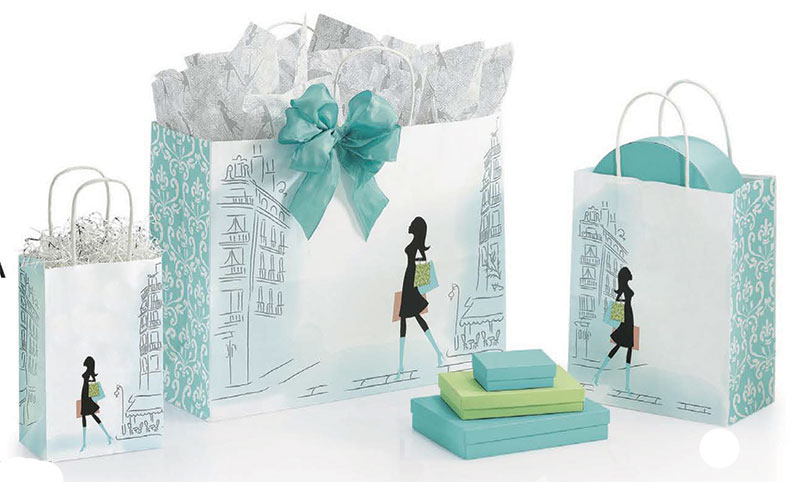 Chic Paper Shopping Bag