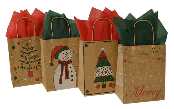 Christmas Bag Closeouts - Cub Sizes 3