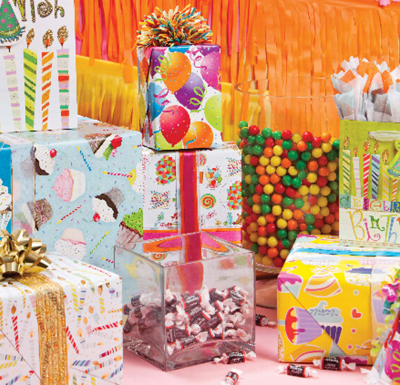 Birthday Celebrate Kids Gift Wrap Paper