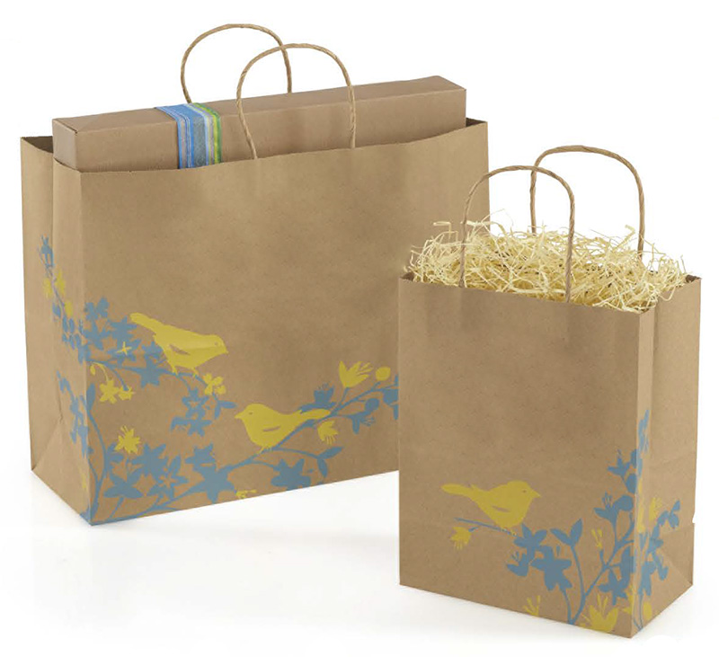 Hello Birdie Paper Shopping Bags