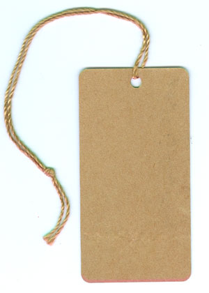 Kraft String Tags - (unprinted)