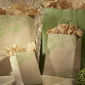 Lantana Rainforest Paper Shopping Bags