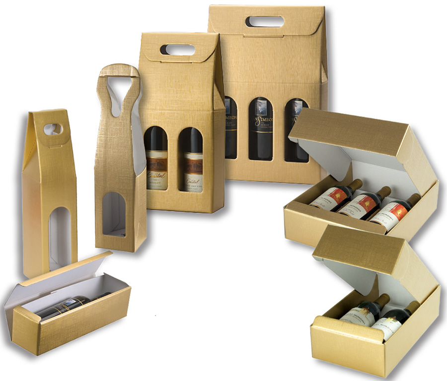 Oro Wine Packaging