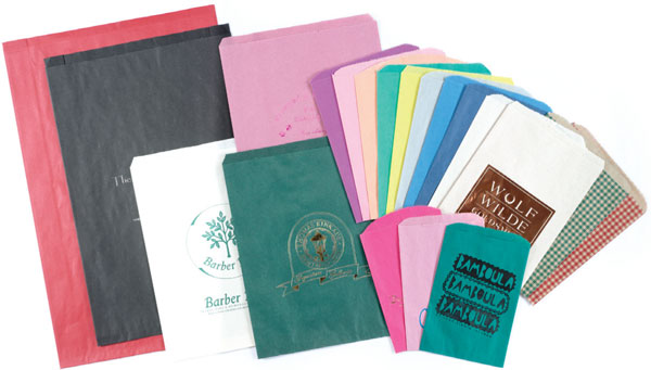 Paper Merchandise Bags (Colors)