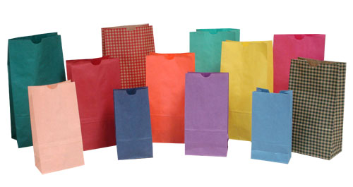Colored SOS Bags