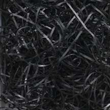 Black Fine Cut Parchment Shred