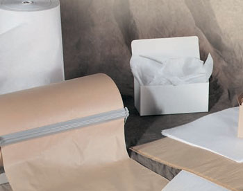 White & Kraft Tissue Paper - Made in USA