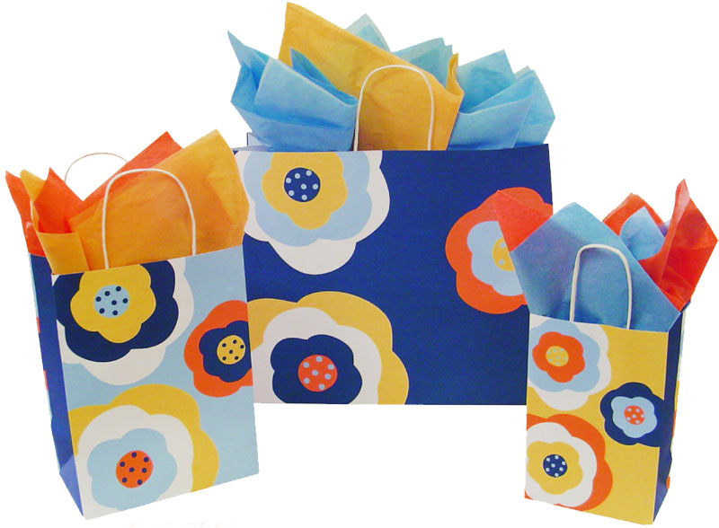 Bloom Paper Shopping Bags