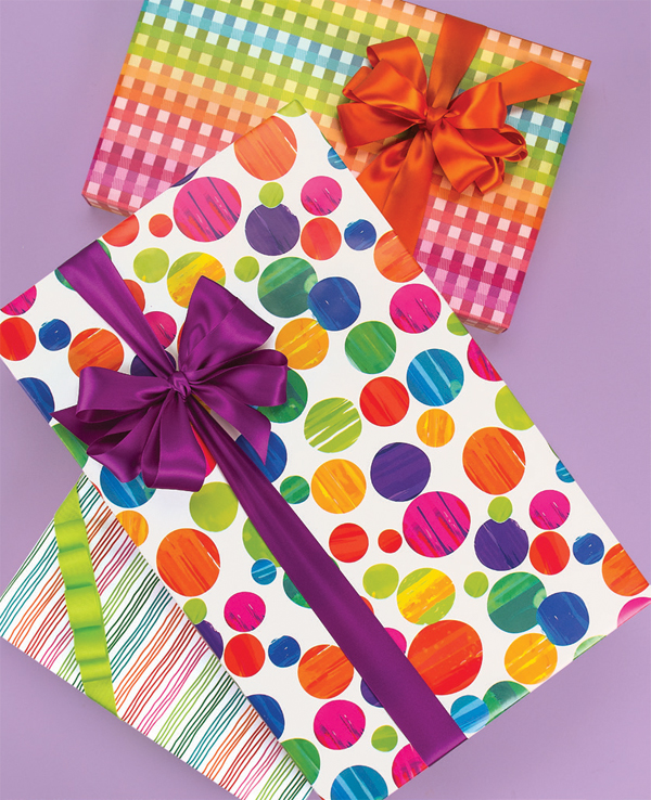 Celebration Kids Birthday Gift Wrap