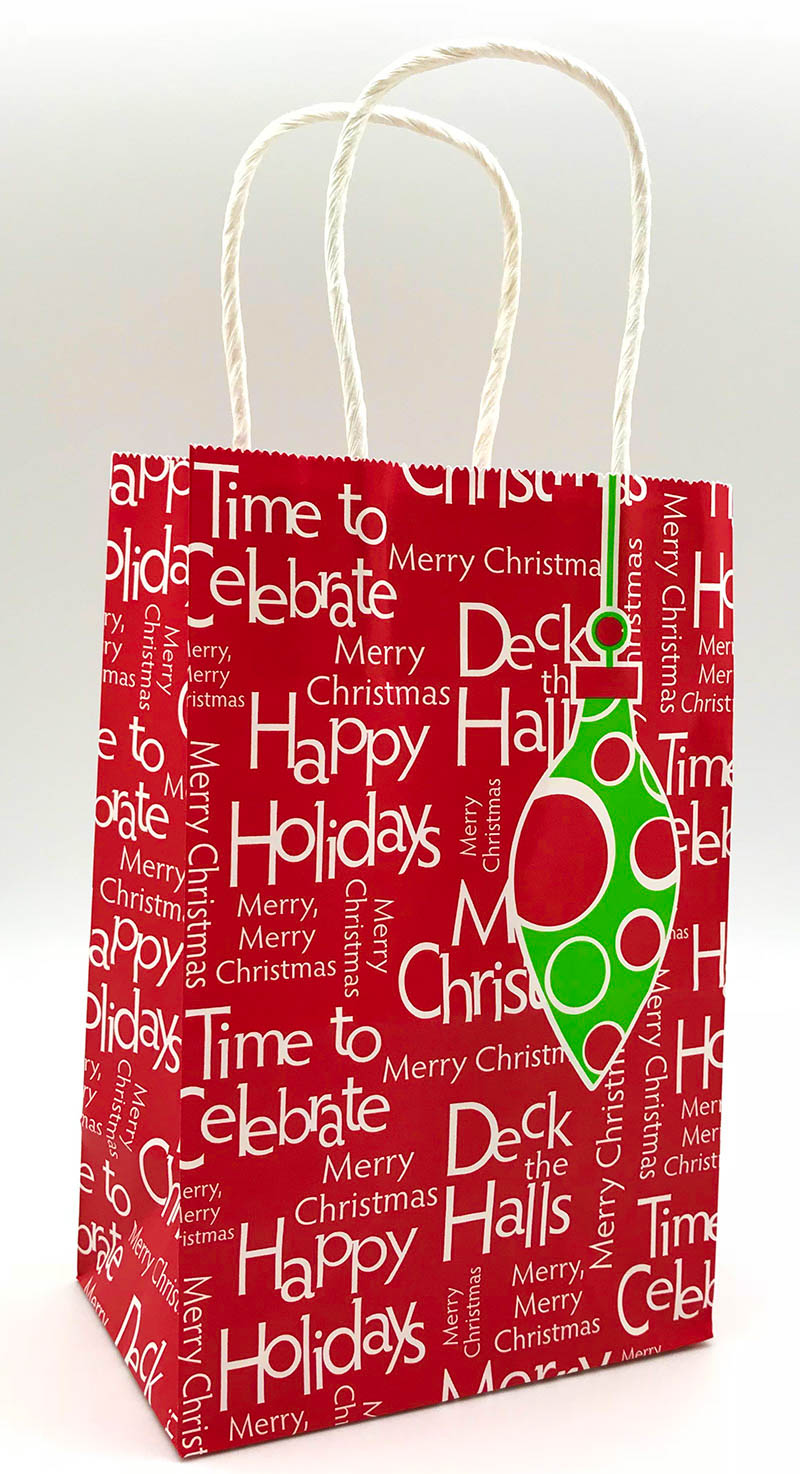 Polka Dot Holiday - Text