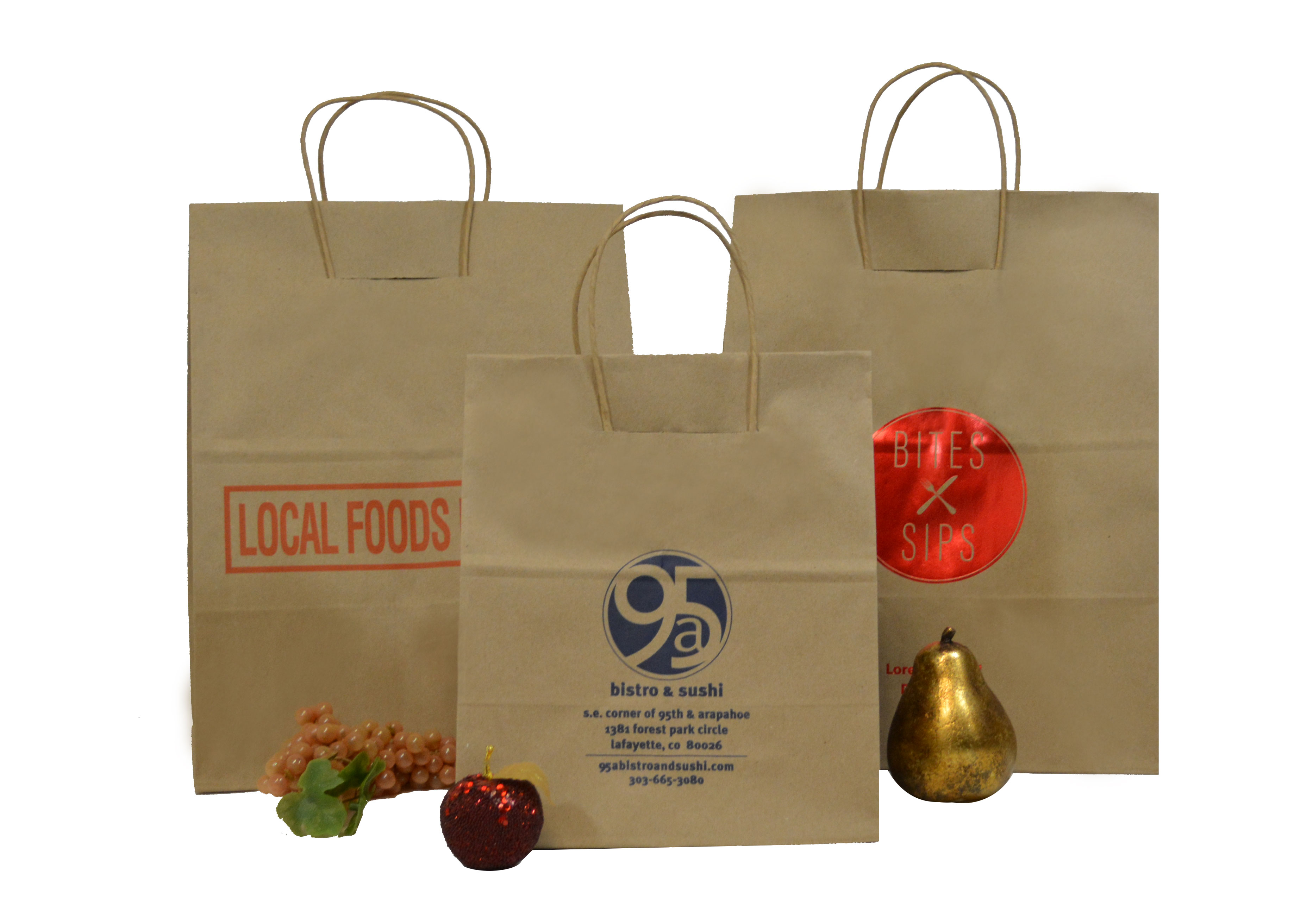 Load & Fold Paper Take Out Bags
