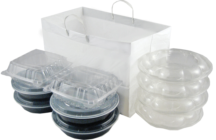 Plastic Catering and To-go Bags