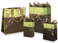 Antigua Rainforest Paper Shopping Bags (Pup)