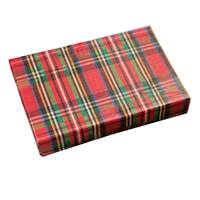 BW Plaid Gift Card Box Gift Card Boxes