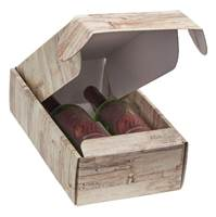Barn Wood Bottle Box (2 Bottle)  Wine Packaging, Wine Bottle Carriers, Wine Bottle Packaging, Wine Bottle Boxes, Barn Wood Wine Bottle Carrier