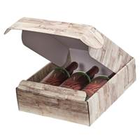 Barn Wood Bottle Box (3 Bottle)  Wine Packaging, Wine Bottle Carriers, Wine Bottle Packaging, Wine Bottle Boxes, Barn Wood Wine Bottle Carrier