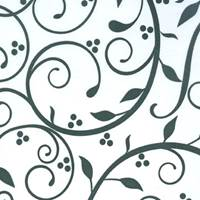 Berry Flourish Tissue Paper