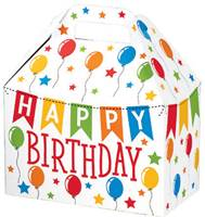 Birthday Banner Large Gable Box Gable Boxes