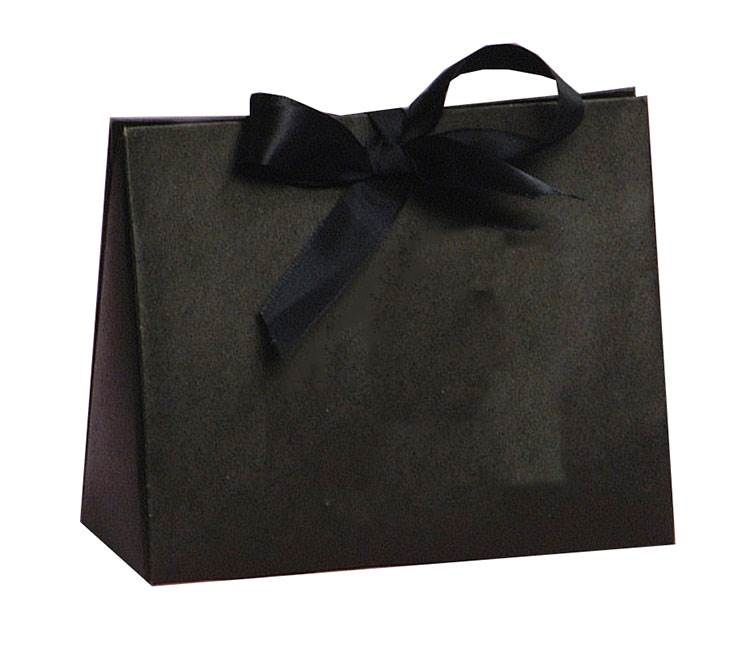 Black Kraft Purse Box  (Small)