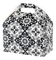 Black & White Medallions Large Gable Box Gable Boxes
