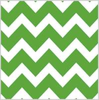 Bold Chevron Apple Green Tissue Paper
