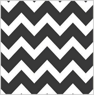 Bold Chevron Black Tissue Paper