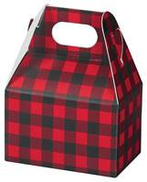 Buffalo Plaid Mini Gable Box Gable Boxes