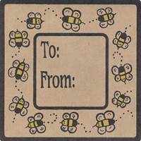 Bumble Bee Collection Labels