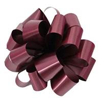 Burgundy Splendorette Pre-Notched Bows