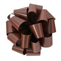 Chocolate Splendorette Pre-Notched Bows