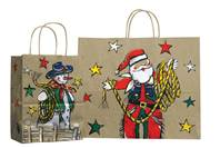 Christmas Roper Paper Shopping Bags (Vogue)