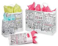 City Collection Paper Shopping Bags (Pup)