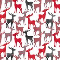 Deer Patterns Gift Wrap
