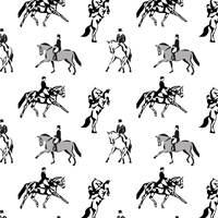 Dressage Gift Wrap Paper
