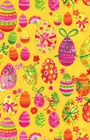 Easter Eggs Gift Wrap Paper