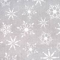 Embossed Silver Snowflakes Tissue Paper
