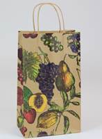 Fruit Bowl Paper Shopping Bags (Double Wine)