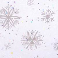 Gemstones Tissue Paper - Diamond Snowflakes