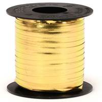 "Gold Metallic Curling Ribbon - 3/16"" x 250yds"