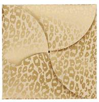 Golden Cheetah Gift Card Folders