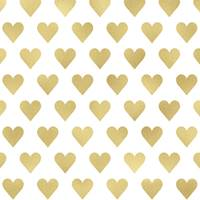 Golden Heart Tissue Paper