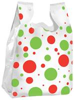 Holiday Dots T-Shirt Bags (Medium)