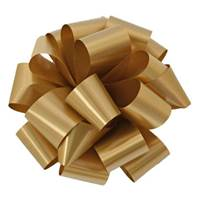 Holiday Gold Splendorette Pre-Notched Bows