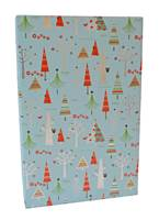 Holiday Hooters Metallic Gift Wrap (FREE FREIGHT)