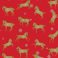 Holiday Spirit Gift Wrap Paper