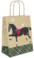Holiday Trot Paper Shopping Bags (Cub)