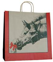 Horse & Puppy Paper Shopping Bags